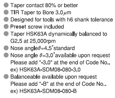 Shrink fit holder 63A